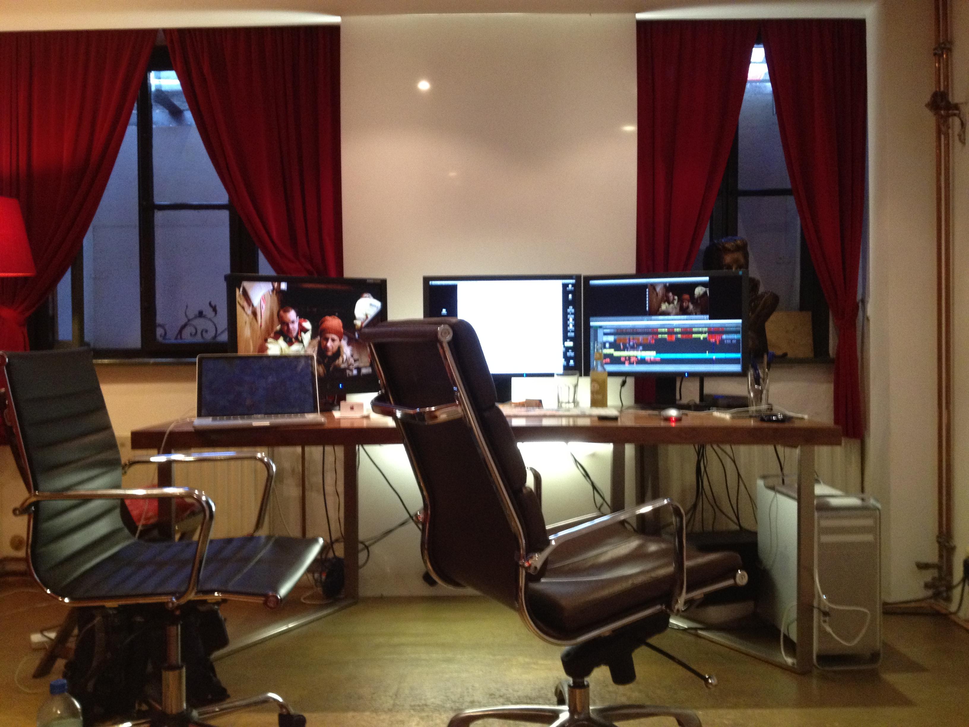 Editing in der Schnittbar