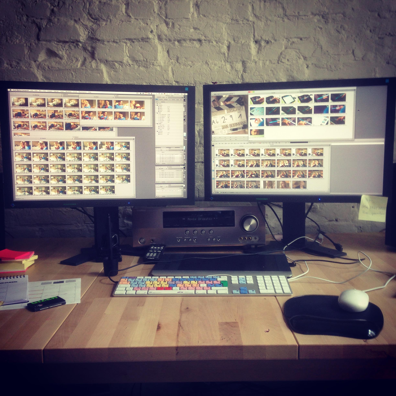 Editing bei mcqueen…