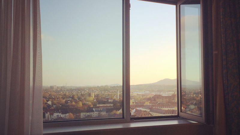 Kassel leider nur aus dem Hotelfenster
