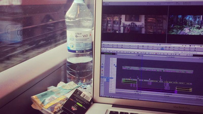 Editing on the road