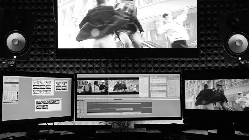 Editing @ DogEarFilms